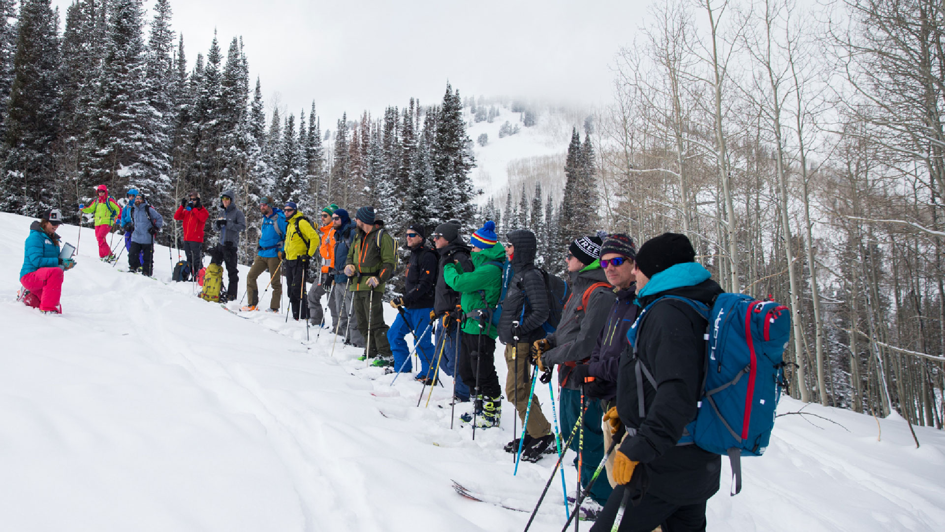 AIARE Level 2 Avalanche Course from White Pine Touring in Park City, UT.