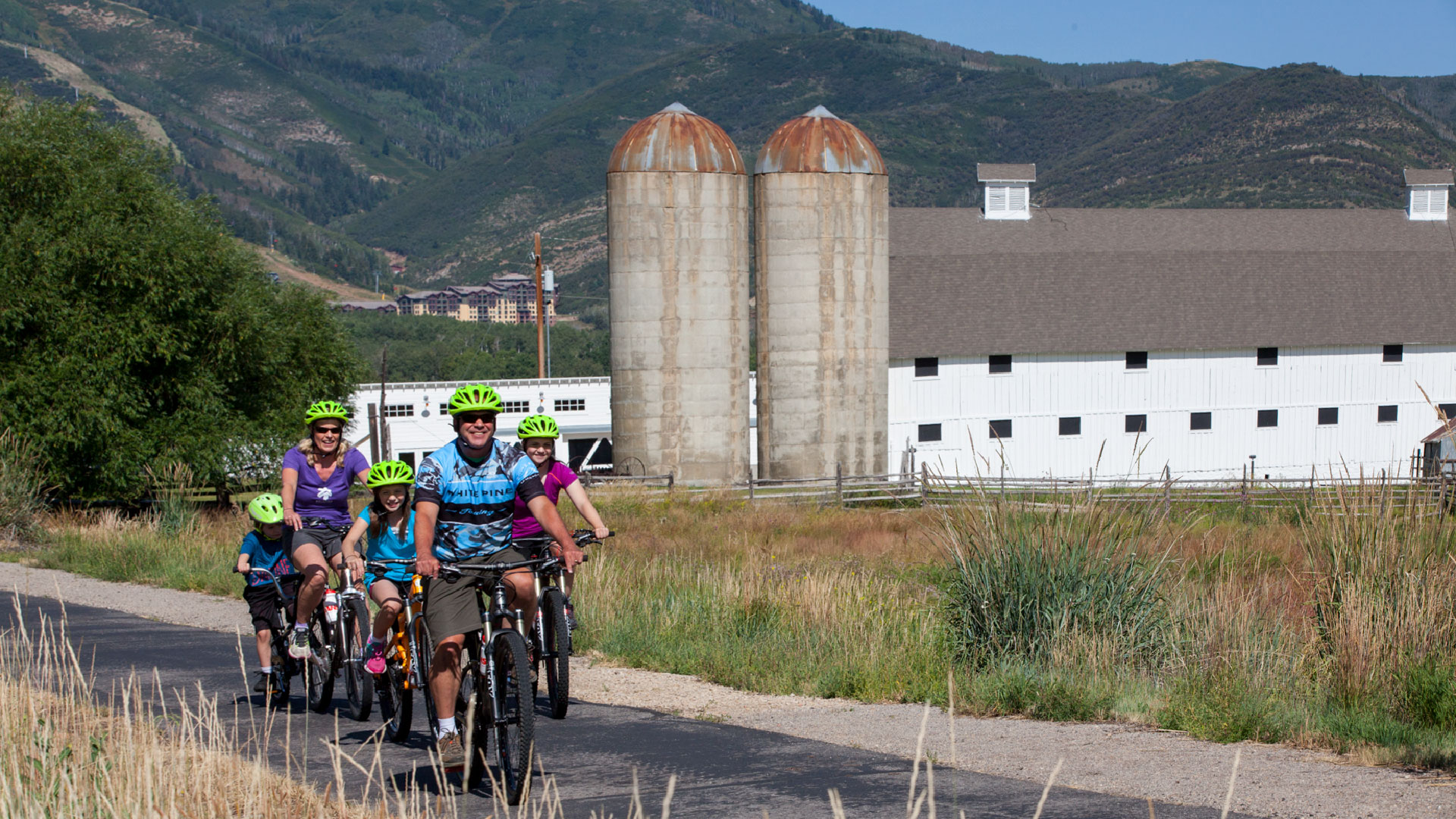 Guided Park City Bike Path Tour from White Pine Touring in Park City, UT.