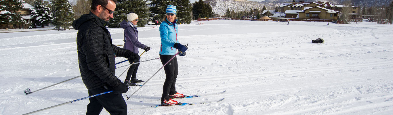 Group Classic Cross Country Skiing Lessons in Park City, UT