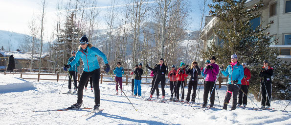 Cross Country Skiing Lessons in Park City, UT