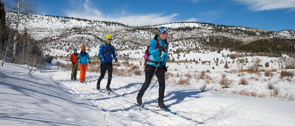 Backcountry Cross Country Skiing Tour in Park City, UT