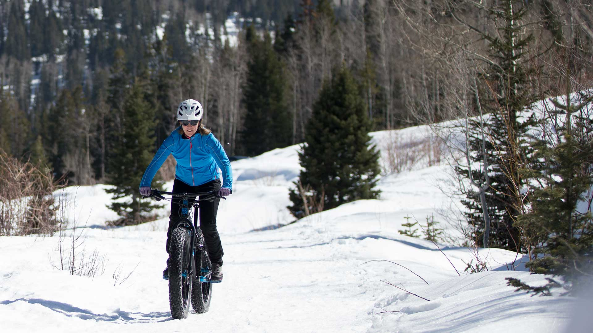 Guided Epic Mountain Biking Tour from White Pine Touring in Park City, UT.