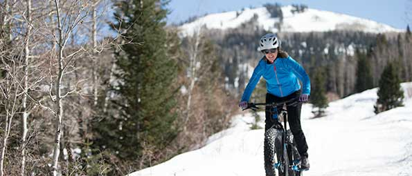Guided Fat Bike Tour in Park City, UT
