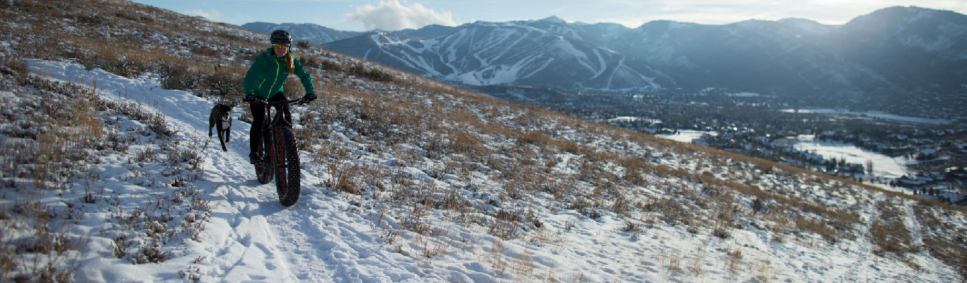 Fat Biking Rentals from White Pine Touring in Park City, UT.