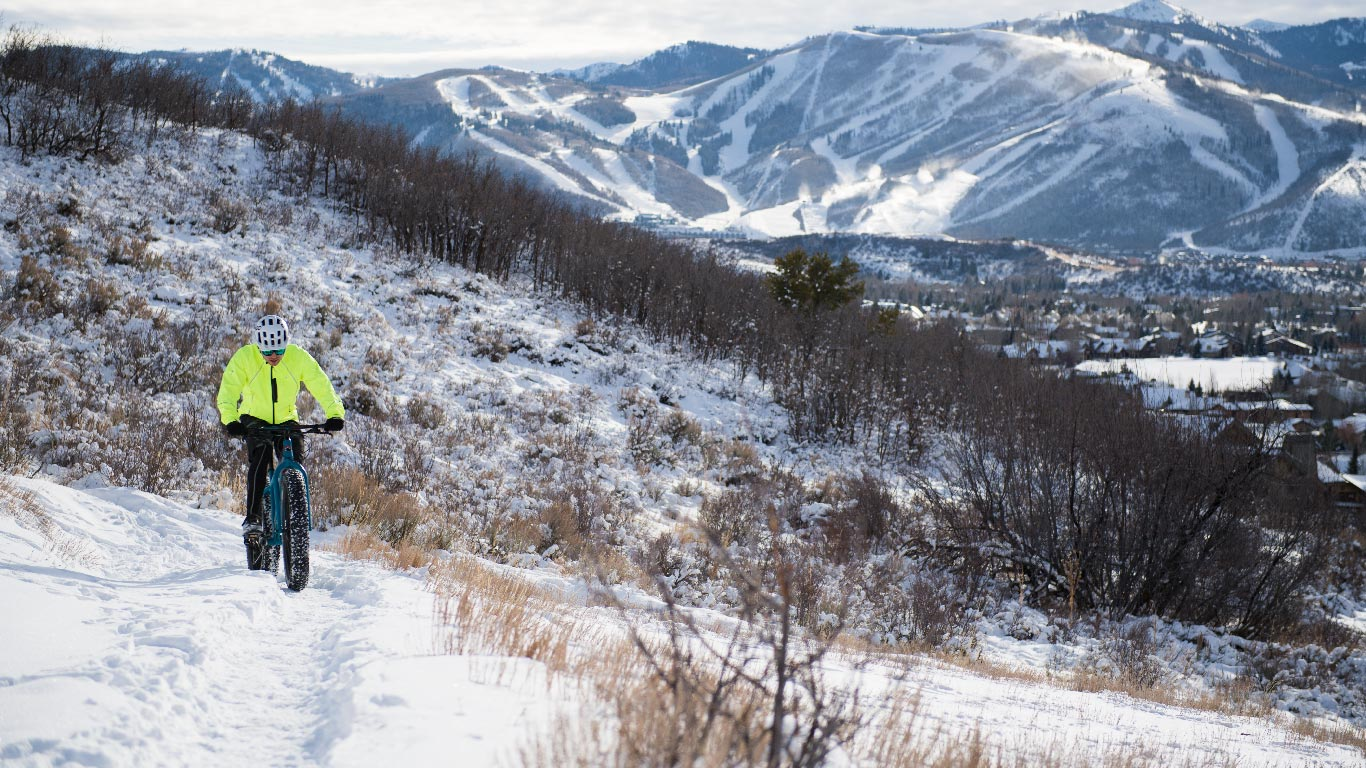 Fat Biking Tours from White Pine Touring in Park City, UT.