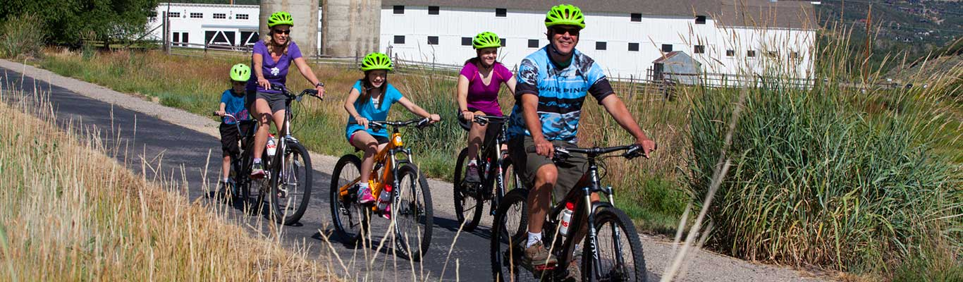 Free Mountain Biking Events with White Pine Touring in Park City, UT