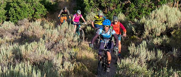 Free Mountain Biking Group Ride in Park City, UT