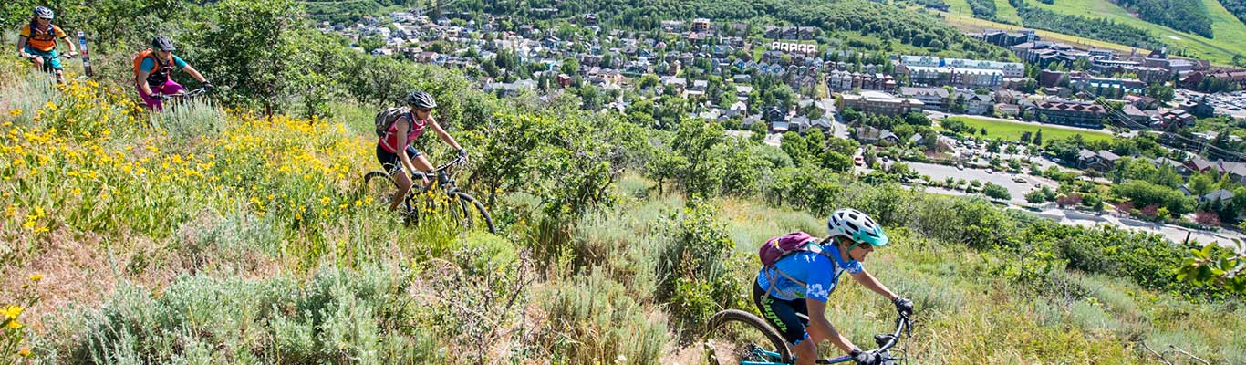 Free Women's Only Mountain Biking Ride from White Pine Touring in Park City, UT