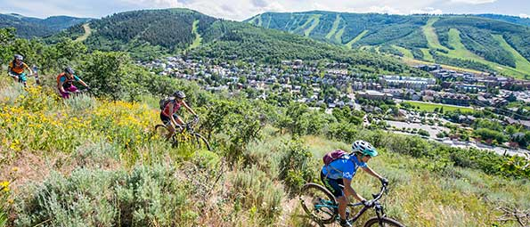 Free Women's Only Mountain Biking Ride in Park City, UT