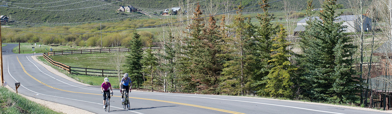 Epic Road Biking Tours from White Pine Touring in Park City, UT