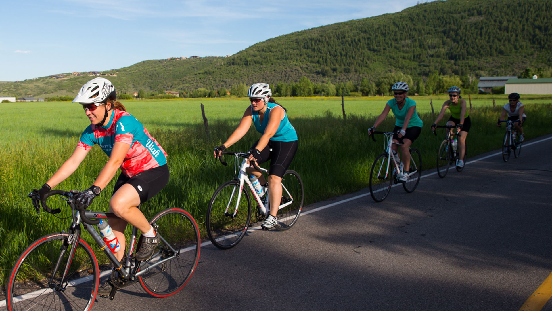 Guided Local Road Biking Tour from White Pine Touring in Park City, UT.