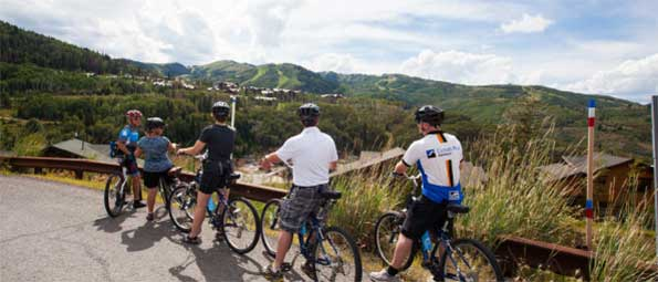 Guided Mountain Bike Tours in Park City, UT