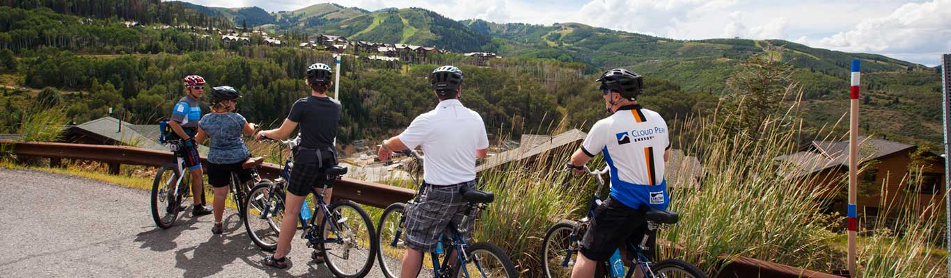 Guided Mountain Biking Tours from White Pine Touring in Park City, UT