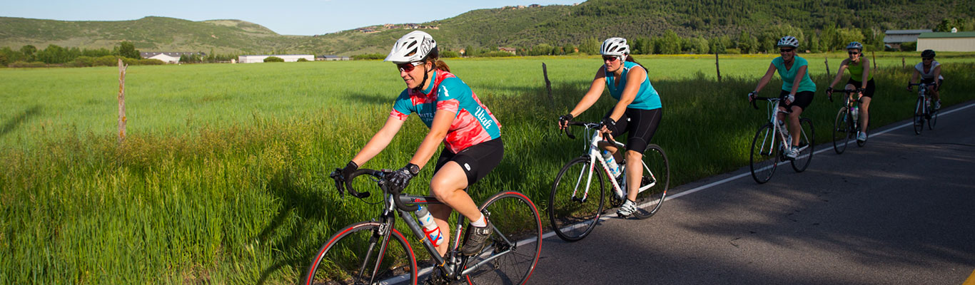 Guided Road Biking Tours from White Pine Touring in Park City, UT