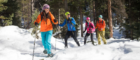 Guided Snowshoeing Tours in Park City, UT