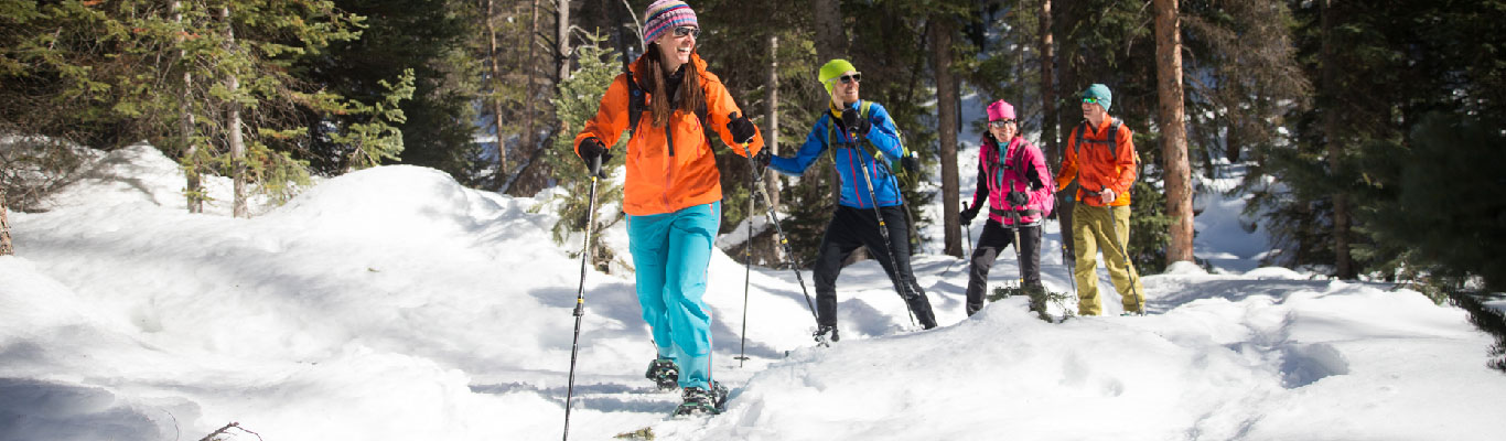 Guided Snowshoeing Tours from White Pine Touring in Park City, UT