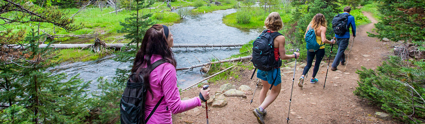 Guided Wilderness Hiking Tours from White Pine Touring in Park City, UT