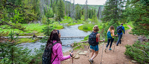 Guided Wilderness Hiking Tours in Park City, UT