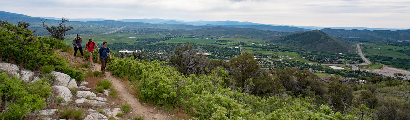 Guided Local Hiking Tours from White Pine Touring in Park City, UT