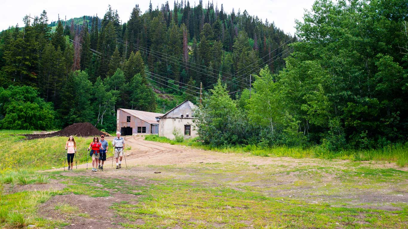 Guided Local Historic Hiking Tours from White Pine Touring in Park City, UT.