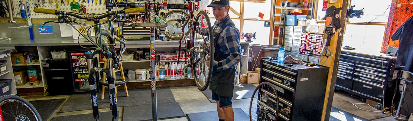 Mountain Bike Tuning from White Pine Touring in Park City, UT