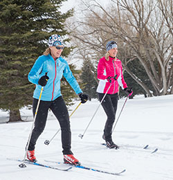 Nordic Skiing at the White Pine Touring Nordic Center