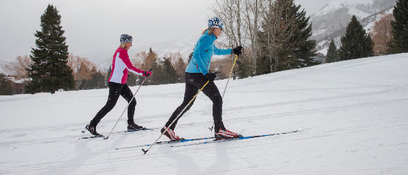 Private Classic Cross Country Skiing Lessons in Park City, UT