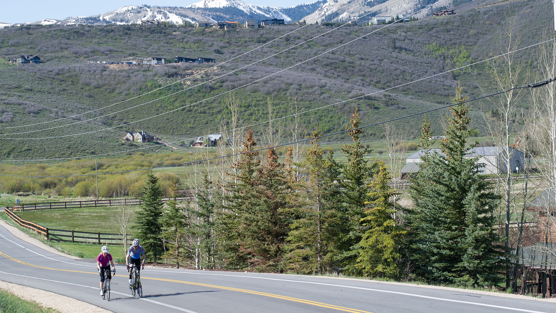 Road Biking 201 Loesson from White Pine Touring in Park City, UT.