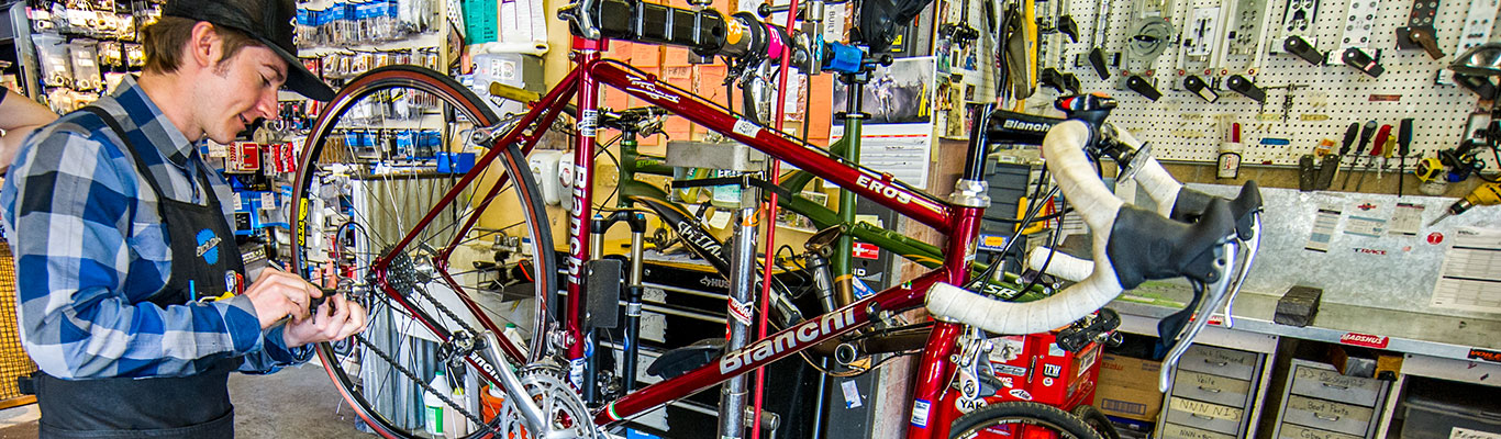 Road Bike Tuning from White Pine Touring in Park City, UT