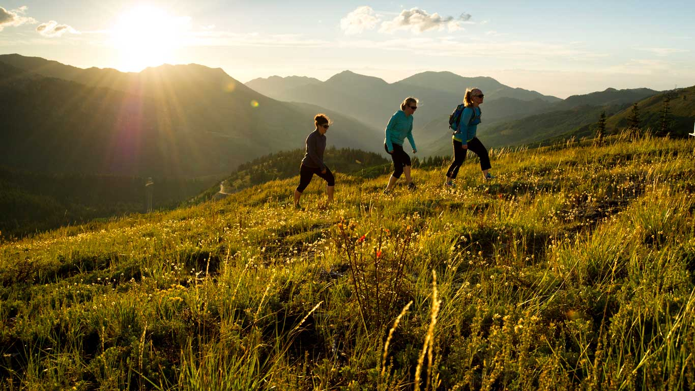 Wilderness Hiking Tours From White Pine Touring In Park City UT